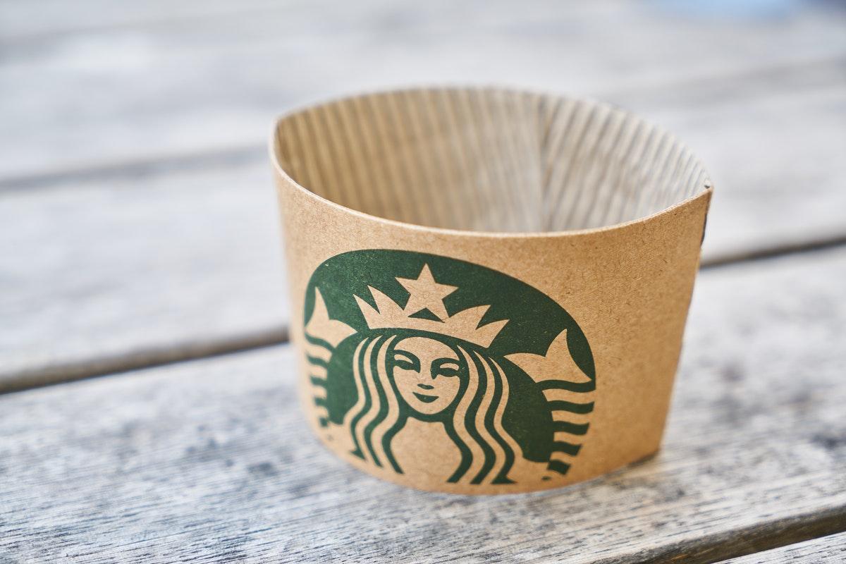 starbucks coffee cup holder